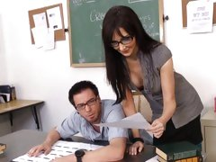 naughty student