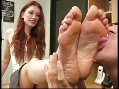 foot lick