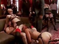 bondage brunette